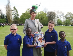BB boys and Lord lieutenant