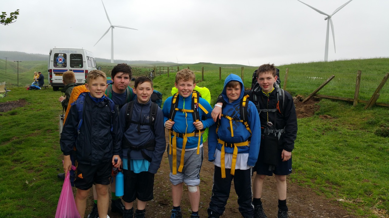 Kilbryde Hike 2016 - The Boys Brigade