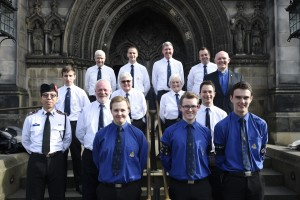 Pic Greg Macvean - 04/10/2016 - The Boys Brigade 133rd Anniversary is marked with a service at St Giles Cathedral -