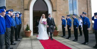 Fraser's wedding