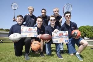 Aaron Irving (15), Matthew Turnbull (18), Barry Williams (18), Josh McGoldrick (18) ...back row left to right - Cameron Higgins (17), John Sharp (Director BB Scotland), Ian Moore (18)