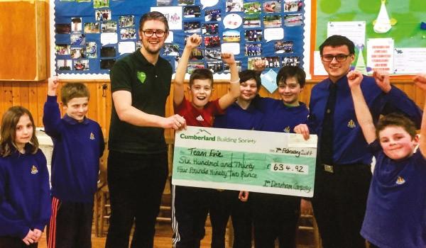 Dearham Boys & Girls raise money for Team Evie