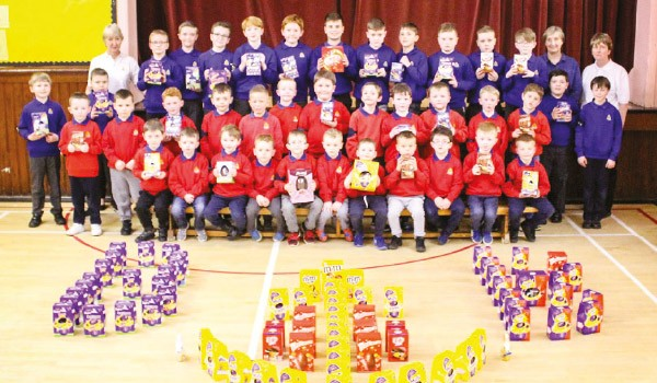 Paisley Lads collect 100+ Eggs