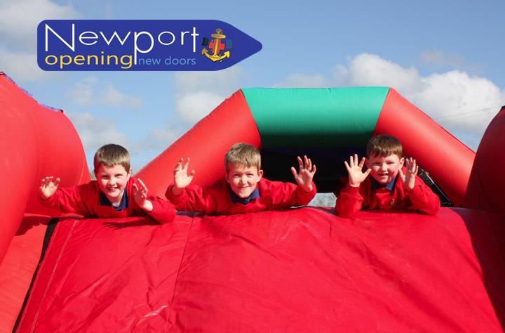 Progress at Newport