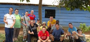 Andrew was part of a BB project in Uganda in 2013