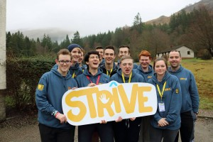 BB young leaders at Strive2