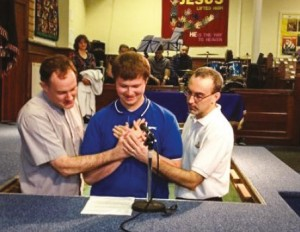 2nd High Wycombe Baptism
