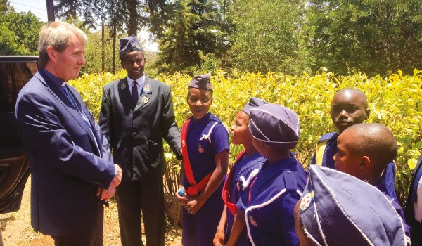 Moderator Visits World Mission Fund Project
