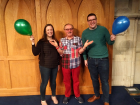 Ruth Bromley, Ruth Bromley, PCI Children's Development Officer, Nick Harding author of the Church and Boys and David Penney NID Programme and Training Officer pictured at The Church and Boys event held in Assembly Buildings Belfast.on Saturday 8 February 2020.